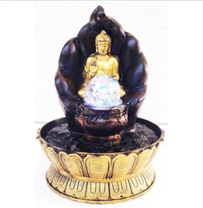 Βούδας σε Λοτό  Συντριβάνι