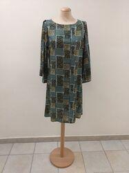 Χειροποίητο βαμβακερό φόρεμα εμπριμέ